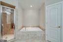 MASTER BATH - 5014 QUELL CT, WOODBRIDGE