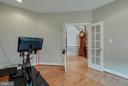 MAIN LEVEL OFFICE WITH FRENCH DOORS - 5014 QUELL CT, WOODBRIDGE
