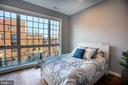 Floor to Ceiling Windows in Third Level Bedroom - 1739 ALICEANNA ST, BALTIMORE