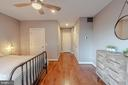Master Bedroom with Ample Storage - 1739 ALICEANNA ST, BALTIMORE