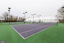 TENNIS COURTS - 6963 COUNTRY CLUB TER, NEW MARKET