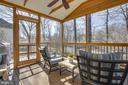 Screened Deck Overlooks Rear Yard - 12110 WALNUT BRANCH RD, RESTON