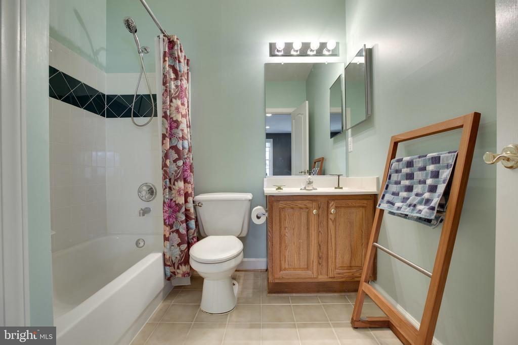 Bath on Lower Level - 12110 WALNUT BRANCH RD, RESTON