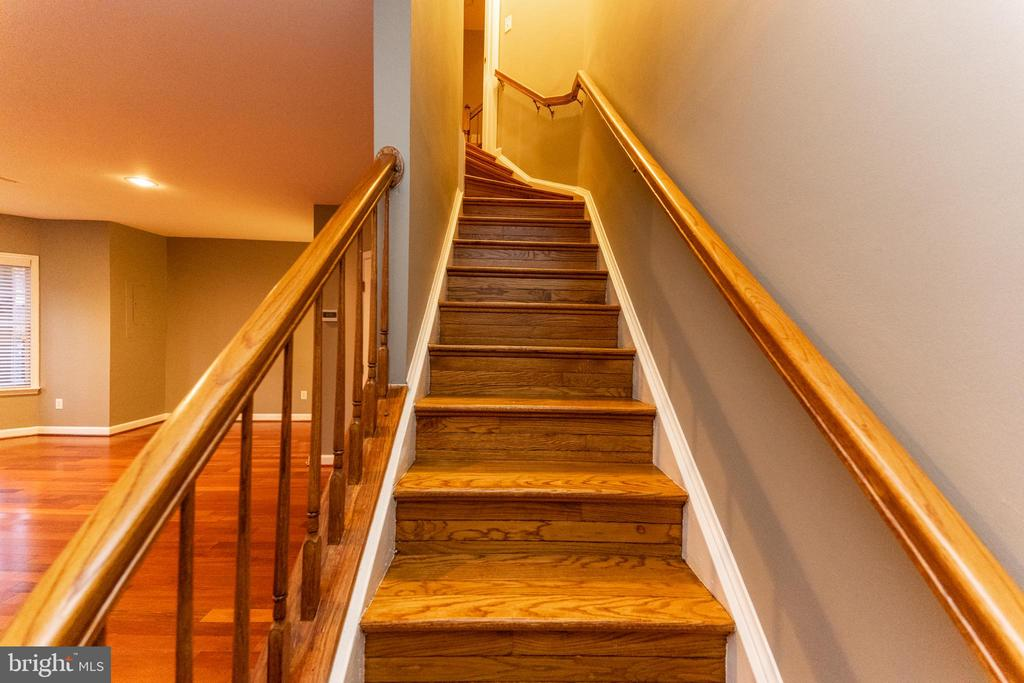 steps down to basement - 1911 LOGAN MANOR DR, RESTON