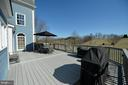 Deck view - 16080 GOLD CUP LN, PAEONIAN SPRINGS
