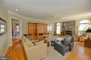 Family room - 16080 GOLD CUP LN, PAEONIAN SPRINGS