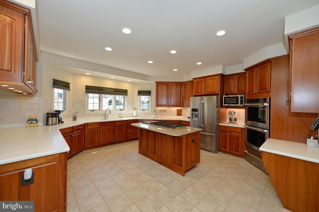 Kitchen has island and SS appliances - 16080 GOLD CUP LN, PAEONIAN SPRINGS