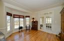Study/home office with bay bump-out - 16080 GOLD CUP LN, PAEONIAN SPRINGS