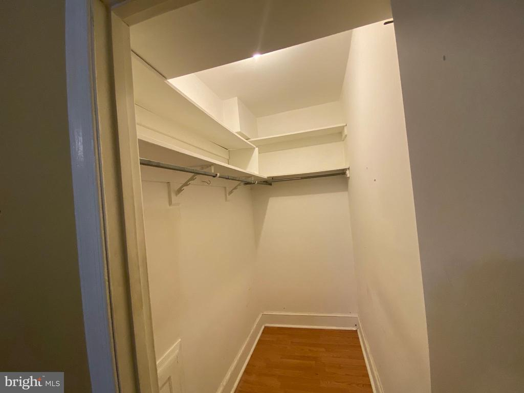 Bedroom Closet - 933 RANDOLPH ST NW #A, WASHINGTON