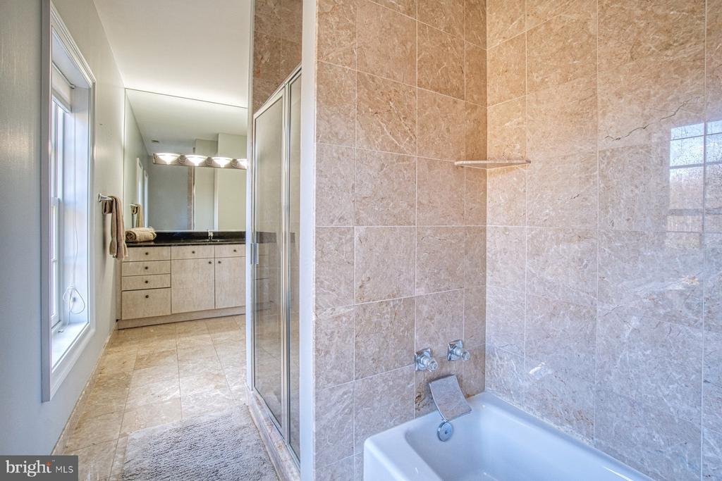 One of the many high end bathrooms - 40310 HURLEY LN, PAEONIAN SPRINGS