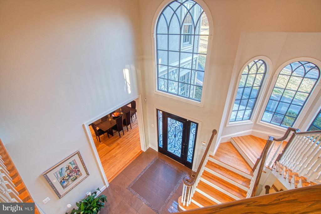 View from 2nd floor landing - 40310 HURLEY LN, PAEONIAN SPRINGS