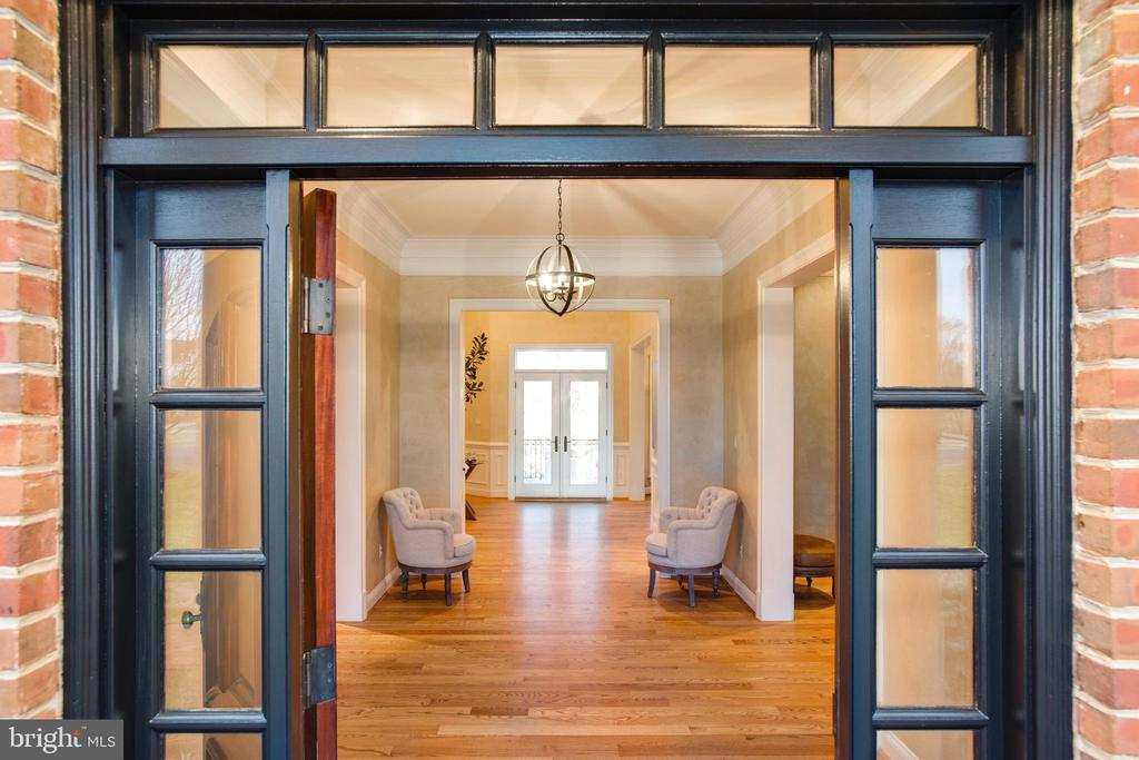First of Two Open Foyers - 9110 DARA LN, GREAT FALLS