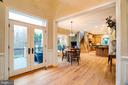 Double Glass Doors Lead to Wrap Around Terrace - 9110 DARA LN, GREAT FALLS