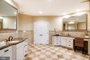 Dual Master Bathroom Vanities - 9110 DARA LN, GREAT FALLS