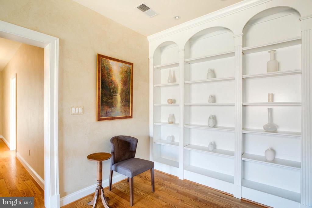 Second Floor Main Landing with Library Nook - 9110 DARA LN, GREAT FALLS