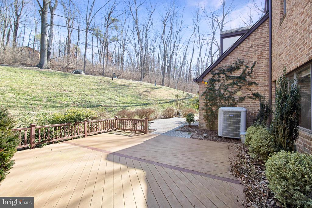 REAR TREX DECK OFF KITCHEN - 4616 OLD NATIONAL PIKE, MIDDLETOWN