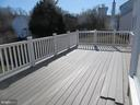 HUGE REAR FLYING DECK OFF FAMILY ROOM - 43 JASON LN, STAFFORD