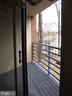 Spacious rear balcony - 1951 SAGEWOOD LN #18, RESTON