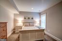 LOWER LEVEL BEDROOM - 4521 N DITTMAR RD, ARLINGTON