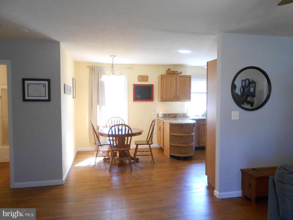 Dining room - Hardwood Floor - 5415 MOLLYS GLN, MINERAL