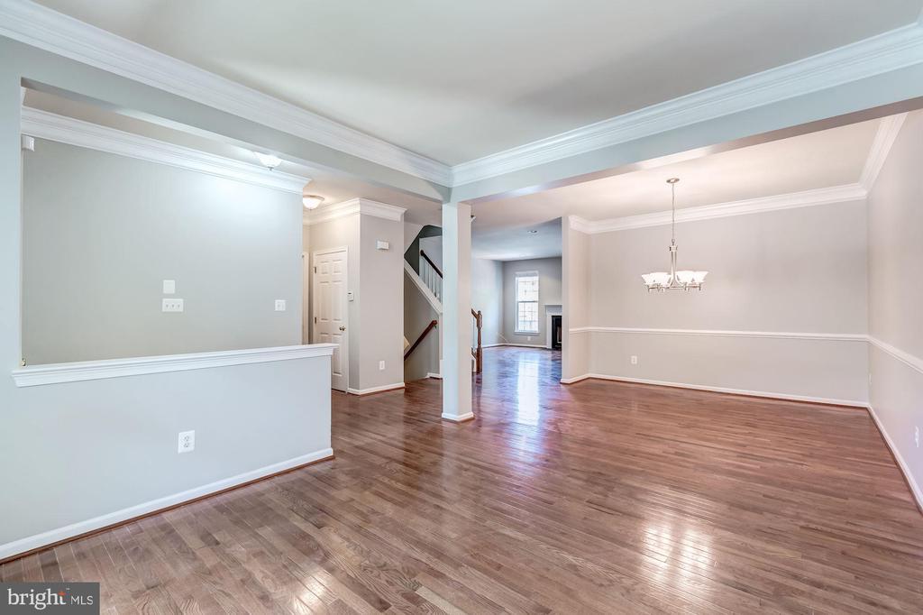 Livingroom/dinning room - 43214 SOMERSET HILLS TER, ASHBURN