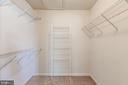 Master Walk-in Closet - 43214 SOMERSET HILLS TER, ASHBURN