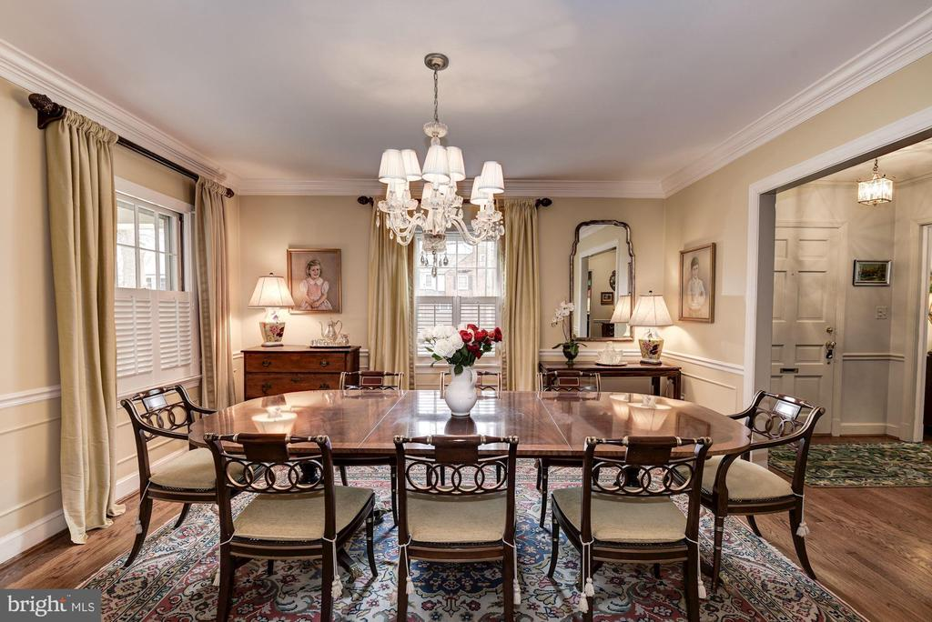 Dining Room - 7600 GLENDALE RD, CHEVY CHASE