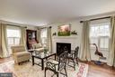 Formal Living Room off Center Hall - 7600 GLENDALE RD, CHEVY CHASE