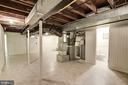 Utility/Storage Room - 7600 GLENDALE RD, CHEVY CHASE