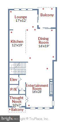 Floor Plan, Level 2 - 44665 BRUSHTON TER, ASHBURN