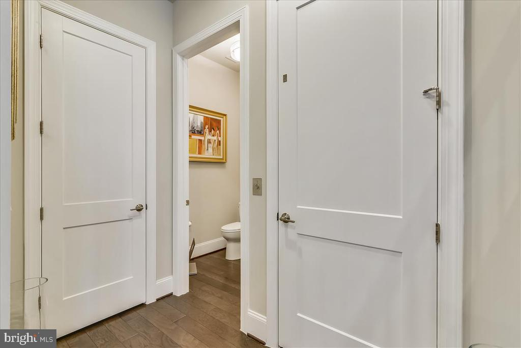 Closet, Half Bath #1, Private Elevator, Level 2 - 44665 BRUSHTON TER, ASHBURN