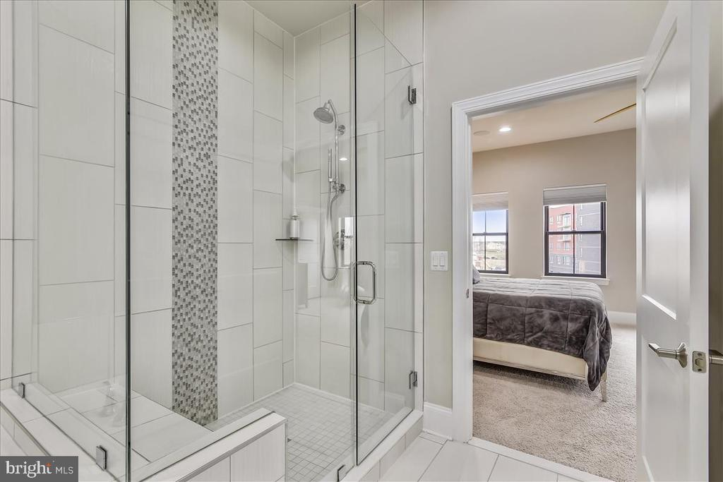 Master Bath Frameless Shower, Level 3 - 44665 BRUSHTON TER, ASHBURN