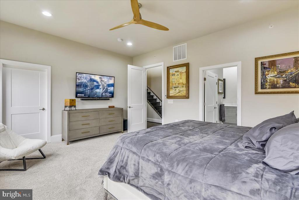 Master Bedroom Suite, Level 3 - 44665 BRUSHTON TER, ASHBURN