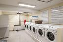 Laundry room in the Bldg augments W/D in the unit - 3900 WATSON PL NW #A-2FG, WASHINGTON