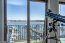 Owner's balcony - 4921 E CHALK POINT RD, WEST RIVER