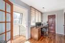 Owners suite desk area - 4921 E CHALK POINT RD, WEST RIVER