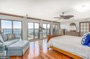 East facing owner's suite with breathtaking views - 4921 E CHALK POINT RD, WEST RIVER