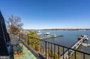 Panoramic view from owner's suite. - 4921 E CHALK POINT RD, WEST RIVER