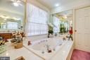 Master bath jacuzzi tub - 9602 TREEMONT LN, SPOTSYLVANIA