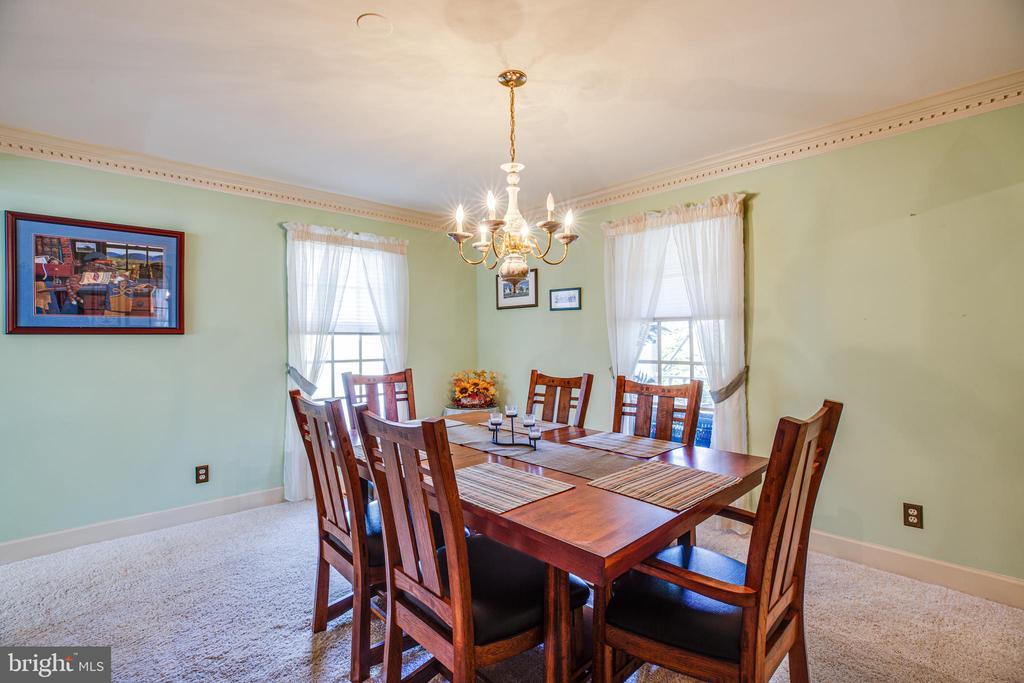 Dining room - 9602 TREEMONT LN, SPOTSYLVANIA
