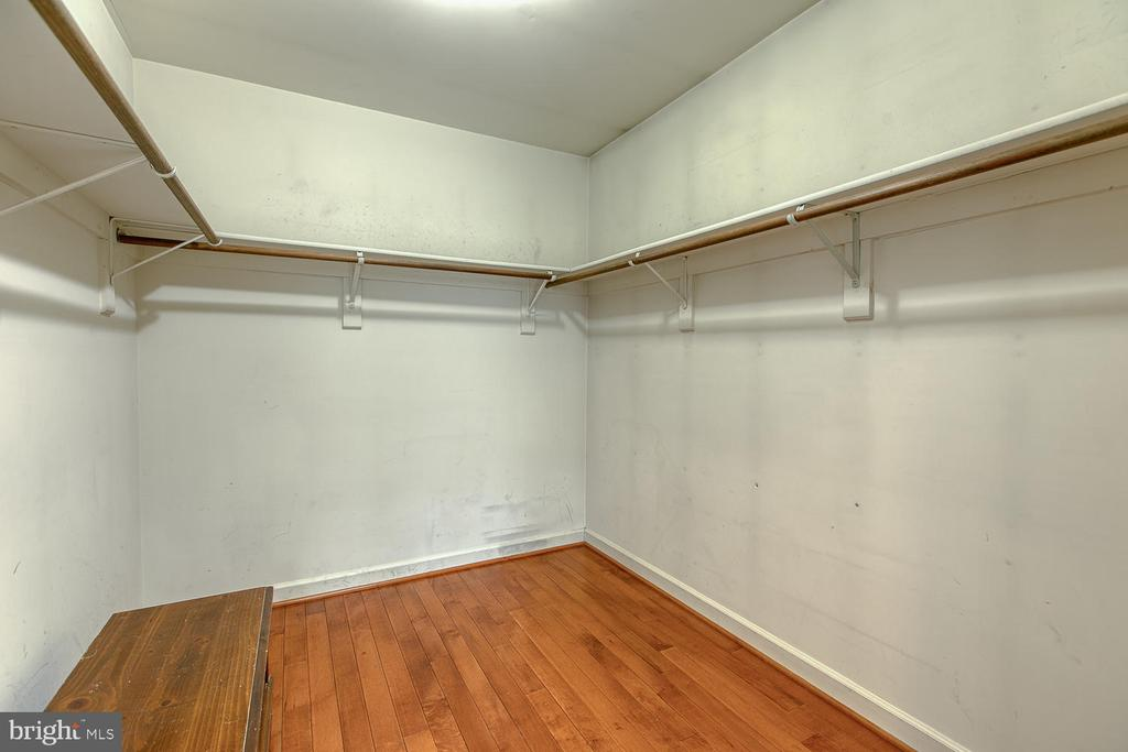 Walk-in closet in owner's suite - 43976 BRUCETON MILLS CIR, ASHBURN