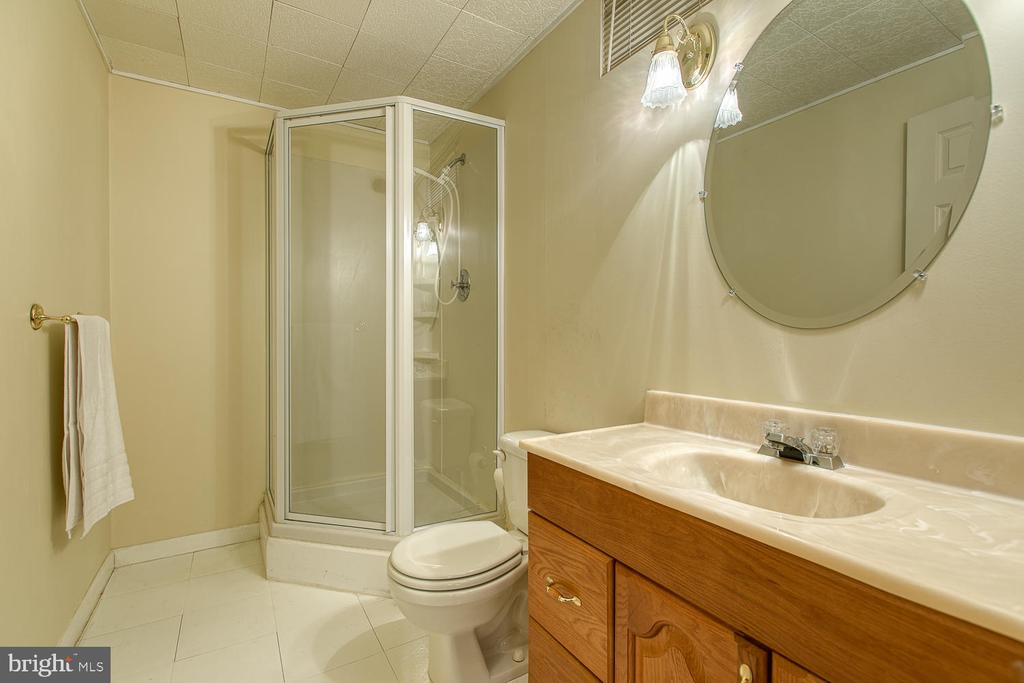 Third full bath in basement - 43976 BRUCETON MILLS CIR, ASHBURN