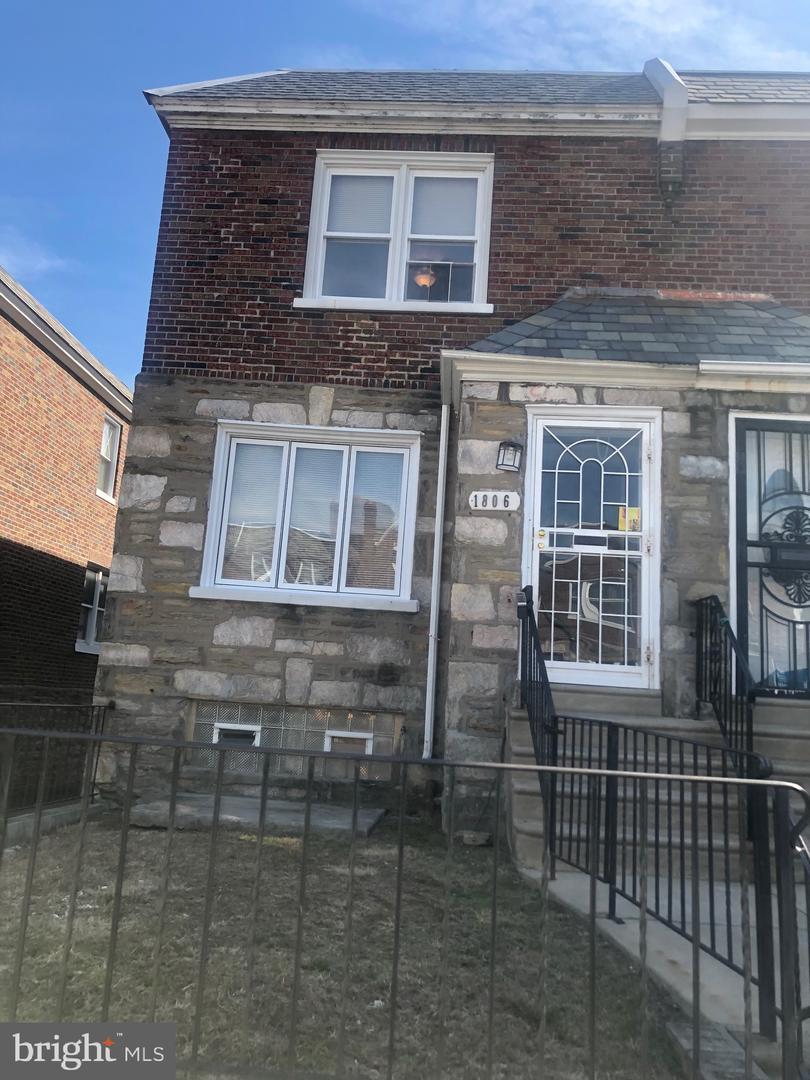 Single Family Homes for Sale at 1806 NOLAN Street Philadelphia, Pennsylvania 19138 United States