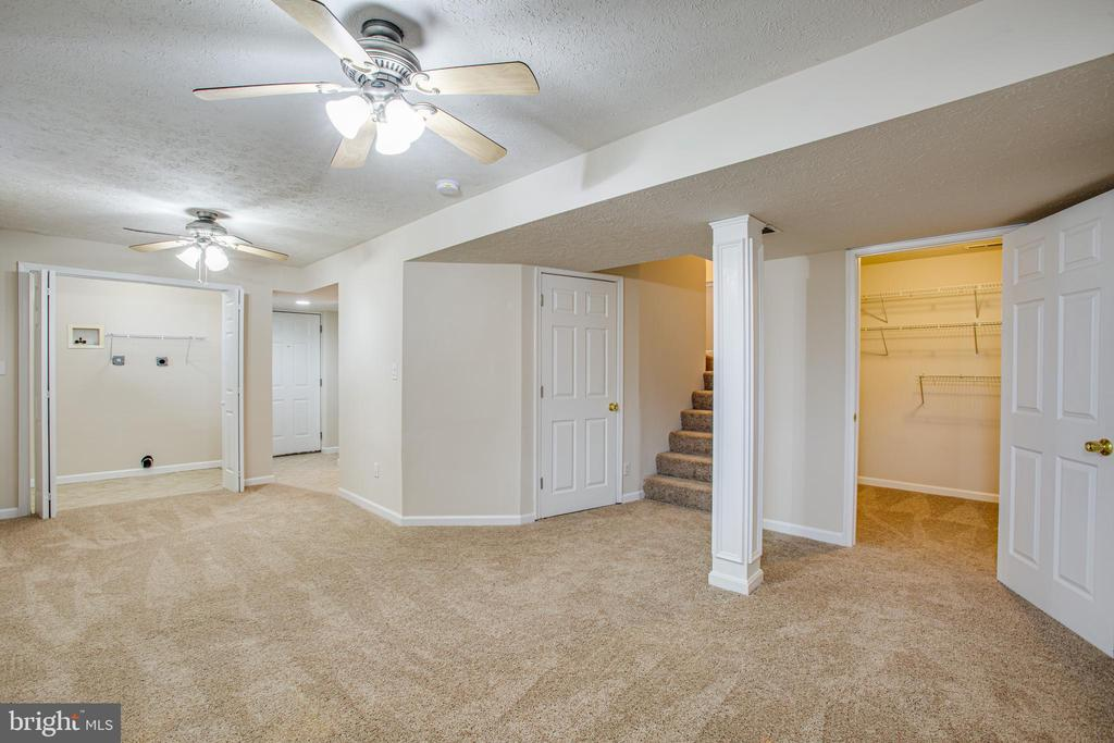 Basement with laundry room - 7517 MATTAPONI, KING GEORGE