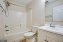 Upstairs hall bath - 7517 MATTAPONI, KING GEORGE
