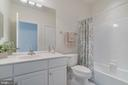 Hall bath - 75 DENISON ST, FREDERICKSBURG