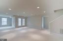 Full sized windows on lower level - 75 DENISON ST, FREDERICKSBURG