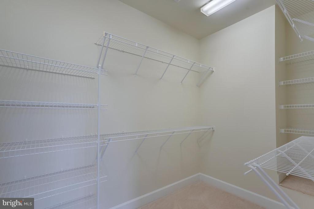 Walk-in closet - 75 DENISON ST, FREDERICKSBURG
