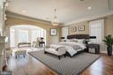 Main level master suite - 119 CLARKS RUN RD, GREAT FALLS