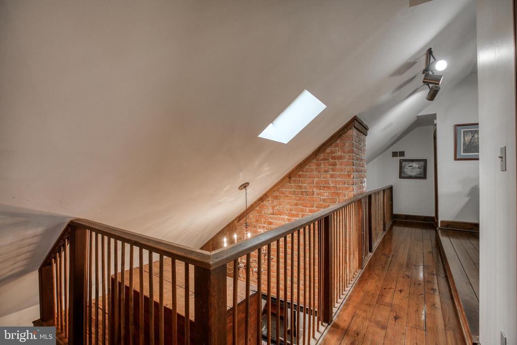 2nd level den or office balcony - 2327 GUN BARREL RD, WHITE POST